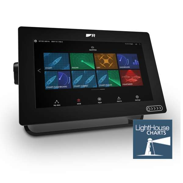 Raymarine AXIOM+ 9 MFD - Display Only With LightHouse Download Chart
